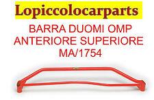 Barra duomi rossa MA/1754 OMP anteriore superiore Audi A4 1.8 / 1.9 fino al 2000