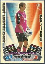 TOPPS MATCH ATTAX 2011-12- #370-MOTM-BOLTON WANDERERS-JUSSI JAASHELAINEN