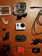GoPro HERO3+ Black Edition (with Wi-Fi remote) only used once to test!
