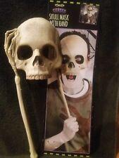 Halloween Máscara de utilería de la mano de Esqueleto Cráneo y