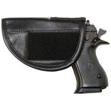Solid Genuine Leather Safe Handgun Pistol Gun Holster NRA Biker Gift ACC-0012