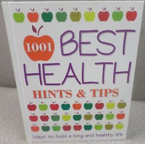 Reader's Digest 1001 Best Health Hints & Tips Hardcover Book - First Edition