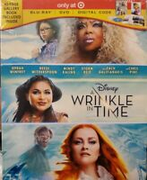 Disney's A Wrinkle in Time Blu-Ray/DVD/Digital Target Exclusive w/40 page book