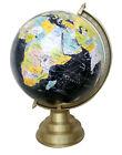 "world map globe 12"" Vintage antique desktop table decorative globe earth on base"