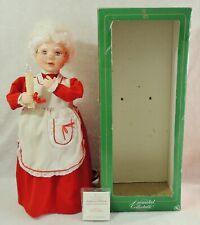 """25"""" Santa's Best MRS SANTA Animated Lighted Christmas Display Motionette Figure"""