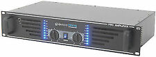 "QTX Sound Pro240 Power Amplifier 240w Black 19"" Inch 2u Rack PA DJ Amp"