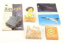 Vintage Match Book Lot - Snatch a Match - King Edward Cigarillo + Zippo light