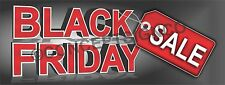 1.5'X4'  BLACK FRIDAY SALE BANNER Outdoor Sign Retail Store Sales Thanksgiving