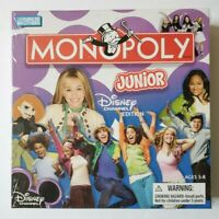 Monopoly Junior Disney Channel Edition Parker Brothers NEW in Sealed Box