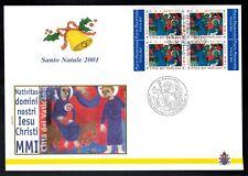 2001 - Vatican- Jean Paul II- Santo Natale- Noël- G.Weinert - Carnet -Yt.C.1248a