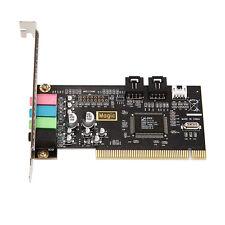 Classic Pci Sound Card 4 Audio Adlib AUX Encoding Basic Card Desktop Sound Card