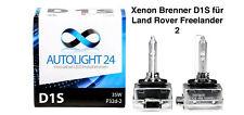 2 x Xenon Brenner D1S Land Rover Freelander 2 Lampen Birnen E-Zulassung