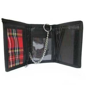 Red Tartan Scottish Wallet
