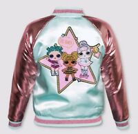 LOL Surprise Reversible Girls Bomber jacket