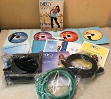 Body cecitermine Full Set 4 DVD's & Resistance Bande foot Strap Fitness Enjoy GYM NEW