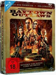 """THE BAYTOWN OUTLAWS"" - Eva Longoria - Action Thriller - ltd BLU RAY STEELBOOK"