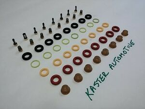 Ford F-150 1985-2003 Fuel Injector Rebuild/Repair Kit O-Rings Filters, Seals