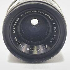 Angenieux f/2.2 95mm  Type R3 Retrofocus Lens Super 16 s16 C Mount
