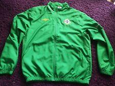 Northern Ireland Football Tracksuit Top Jacket Mens Large Umbro