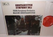ASD 2668 Shostakovich Symphony No.5 USSR Symphony Orchestra Maxim Shostakovich