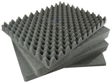 SOLID - 4 piece Replacement foam set for Pelican 1550. (Solid Middle foam)