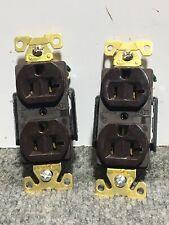 Lot of 2 NEW ARROW HART AH5362B ELECTRICAL RECEPTACLE, 2P-3W, 20A,