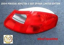 04 PORSCHE BOXSTER S 550 SPYDER LIMITED EDITION TAIL LIGHT LAMP taillight OEM RH