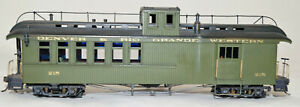 Sn3 Brass Pacific Fast Mail Pagosa Juction Car #215