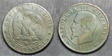 Napoléon III, 5 centimes 1856 W, TB