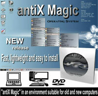 antiX 2020 Full Operating System Replace Old Windows PCs Laptops on DVD