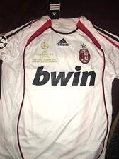 Camisa Retro AC Milan Kaka XL 2007 ganadores de la Liga de Campeones de Jersey de Italia