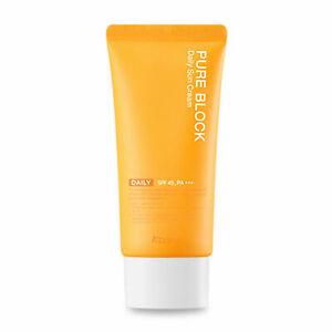 [A'PIEU] Pure Block Natural Daily Sun Cream 50ml ⭐Tracking⭐