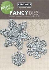 """""""Paper Layering Snowflakes w/Frames"""" Fancy Dies by Hero Arts"""