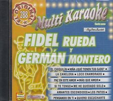 FIDEL RUEDA Y GERMAN MONTERO MULTI KARAOKE New SEALED