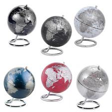 Emform Mappamondo mini globo Galilei  ⌀14 h 17cm, bianco, nero, blu, argento