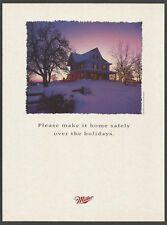 MILLER BEER - Milwaukee - 1991 Print Ad