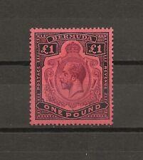 More details for bermuda 1918-22 sg 55  mint cat £250