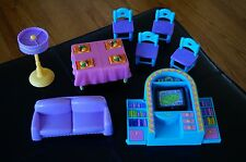 DORA Doll House Furniture Set Lot Living Room Entertainment Couch Kitchen Table