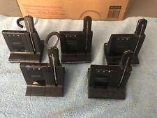 Lot of 5 Plantronics Savi W740 Headsets