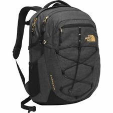 NWT THE NORTH FACE Womens Borealis Backpack TNF Black / 24K Gold  FREE SHIPPING!