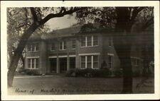 Uvalde Tx Honorable John Nance Garner Home Real Photo Postcard