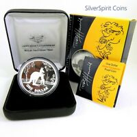 2007 KANGAROO Proof Silver Coin