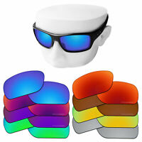 OOWLIT Replacement Etched Polarized Lenses for-Oakley Turbine OO9263 Sunglasses