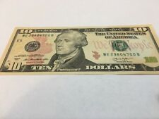 NEW Uncirculated $10  Dollar Bill Note  Series 2013