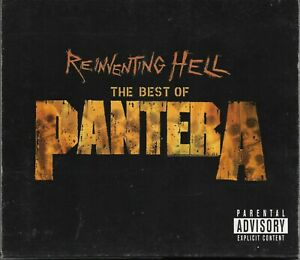 PANTERA -Reinventing Hell The Best Of Pantera- CD/DVD + Slipcase