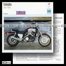 #002.15 YAMAHA 1200 V-MAX (VMAX) 1990's Fiche Moto Motorrad Motorcycle Card