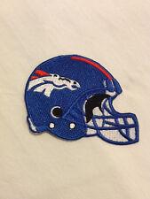 Denver Broncos Helmet Logo NFL Football Hat Shirt Iron On Jersey Patch (B)