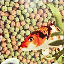 2kg Webbox Rainbow Pellets Floating KOI CARP & All Pond Fish Food