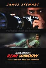Rear Window Double Sided Orig Movie Poster 27x40