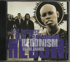 SKUNK ANANSIE Hedonism RARE 1TRK PROMO DJ CD Single ski